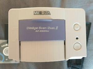 Minolta Dimage Scan Dual II AF 2820U 35mm USB Film & Slide Scanner Unit