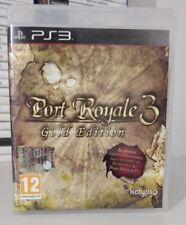 PORT ROYALE 3 GOLD EDITION PS3 COME NUOVO COMPLETO PLAYSTATION 3 PAL  ITALIANO
