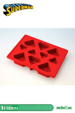 Officially Licensed Superman Silicone Logo Ice Cube Tray by Kotobuikiya
