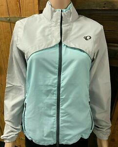 New PEARL IZUMI Women Quest Barrier Convertible Cycling Jacket / Vest MEDIUM