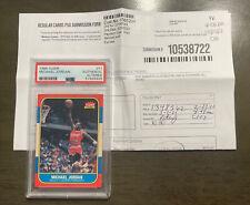 1986 Fleer Basketball Michael Jordan Rookie RC #57 PSA Authentic Altered, RARE!