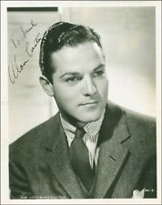 ALAN CURTIS - INSCRIBED PHOTOGRAPH SIGNED CIRCA 1941