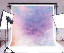 Vinyl Photo Background New 8' X 8' Studio Purple Gradient Wall Backdrop