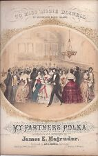 My Partner's Polka, To Miss Lizzie Boswell of Brooklyn, Long Island, 1855