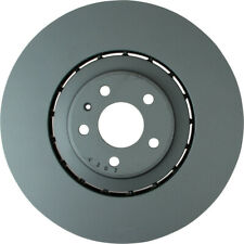 NOTE: w//356mm Dia Rotor One Year Warranty 2012 for Audi A7 Quattro Front Premium Quality Cross Drilled and Slotted Coated Disc Brake Rotors And Ceramic Brake Pads - For Both Left and Right