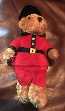 Harrods Knightbridge London British Royal Soldier Bear Stuffed Animal Plush