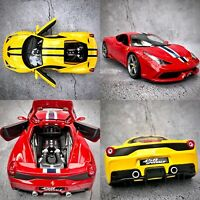 Ferrari 458 Speciale Special Edition Diecast Boxed 1:18 Model Car