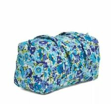 NWT VERA BRADLEY Cotton SMALL DUFFEL BAG in Blueberry Blooms