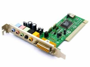 Cmedia L-8738-6C-3B CMI8738/PCI-6ch-LX Audio Board Sound Card PC Multimedia Card