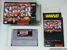 Super Street Fighter II - Super Nintendo - SNes - USA