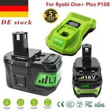 Für Ryobi P108 ONE Plus Akku 18V 9,0Ah Lithium RB18L50 Batterie RB18L40 P104