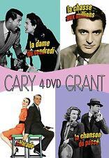 Coffret 4 DVD Cary Grant Charde - La dame du vendredi - La chase aux millions...