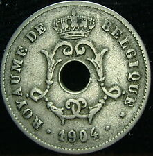 1904    Belgio Belgique Belgie    10 centesimi   centimes