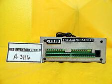 Verteq M-002-05 Frequency Generator Used Working