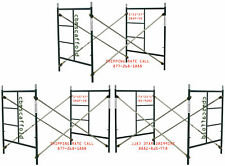 Cbm Scaffold 3 set Masonry Frame Sets 5' X 5'X 7' Snap On Cross Brace