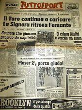 TUTTOSPORT 12/4/1976 25gg COMO TORINO 0-1 JUVENTUS ASCOLI 2-1 BRINDISI FOGGIA1-1