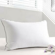 500TC 100/%Cotton Cover 750 Fill Power Firm White Down Pillow Down Pillows