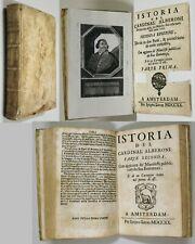Rousset De Missy ISTORIA DEL CARDINAL ALBERONI 1720 Ipigeo Lucas Amsterdam