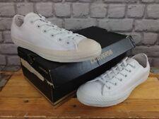 Plimsolls 100% Leather Upper Shoes Men's Converse