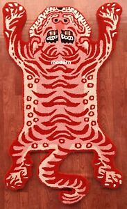 Tibetan Tiger Rug With 100% Woolen, 3x5 feet for Home Décor Multicolour