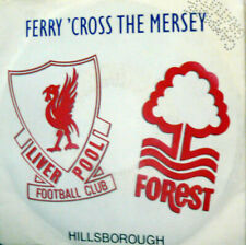 "FERRY'CROSS THE MERSEY LIVERPOOL  7"" ITALY 1989 CAMPIONE GRATUITO"