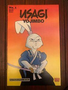 USAGI YOJIMBO #1 1987 2nd Printing Fantagraphics Stan Sakai Sharp VF/NM 9.0!