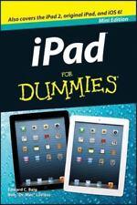 "IPad for Dummies-Mini Edition, Edward C. Baig, Bob ""Dr. Mac"" LeVitus, Good Condi"