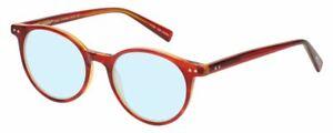 Eyebobs Schutzhülle Closed Damen Blau Licht Block Brille Rot Lagen Orange Quarz