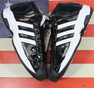 Adidas Pro Model 2G Men's Basketball Shoe Core-Black/Cloud-White Retro [EF9821]