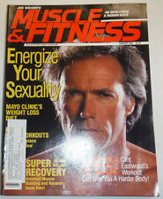 Muscle & Fitness Magazine Clint Eastwood January 1991 112114R1