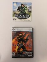 Halo 1 and 2 PC CD ROM GAMES