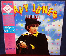 "MONKEES DAVY JONES ""The Best"" 1981 Japan ONLY Lp w/Obi/inserts BEATLES"