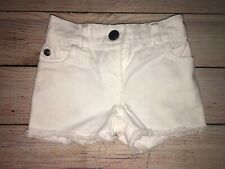 Girls 3 Months Carters White Jean Shorts