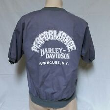 VTG Harley Davidson Motor Clothes Pullover Shop Shirt 80s Jumper Work 90s Large