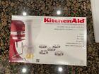 KitchenAid KPEXTA Stand-Mixer Pasta-Extruder Attachment w/ 6 Plates and Housing photo