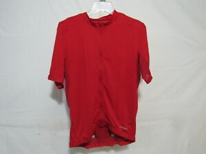 Louis Garneau Lemmon 3 Cycling Jersey Men's Medium Red Crustacean Retail $71.99