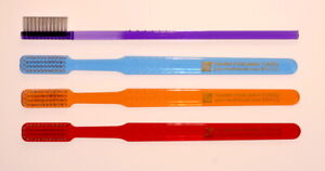 Sound Feelings Vintage-Style, Classic Toothbrushes - HARD, New, 4-Pack