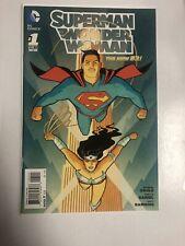 Superman Wonder Woman (2013) # 1 (NM) Variant Cover