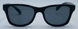 Shwood Canby Handcrafted Wrap Brown Black Blue 54×19-150 Sunglasses #1105