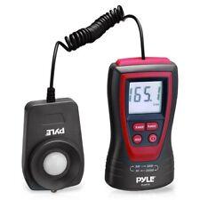 Pyle Handheld Lux Light Meter Photometer W/ 2X Per Second Sampling, LCD Display