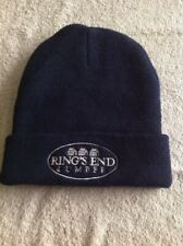 Ring's End Lumber Knit Hat Winter Beanie Cap Navy Blue Acrylic