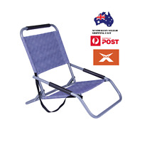 Lazy Dayz Beach Chair BLUE Color Foldable Camping Furniture Light Stylish Summer