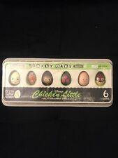 Disney CHICKEN LITTLE Toy EGG Set, 6 RARE Vinyl Figures in Egg Carton 2005