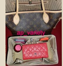 Bag Organizer Base Shaper Internal Bag for LV Neverfull PM in Beige COLOR