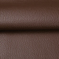 5/10/15 Yards Brown Faux Leather Fabric Pleather Upholstery Marine Vinyl Fabric