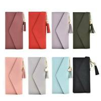 Women Lady Clutch Leather Wallet Long Card Holder Phone Case Purse Handbag Hot