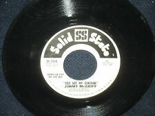 "Jimmy McGriff ""You Are My SunshineThe Days of Wine and Roses"" 45 PROMO"