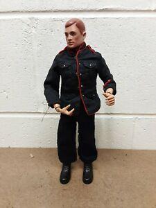 """Vintage 1964 TM/R Pat Pending Hasbro 12"""" GI Joe Action Figure Red Painted Hair."""