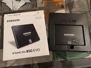 "Samsung SSD 500 GB 850 EVO + adattatore HD 2,5"" a 3,5"""