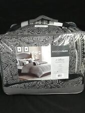 Madison Park Denton Cal King 7pc Comforter Set Bed In A Bag - Black